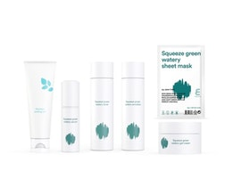 Hudvårdsset- E NATURE Squeeze Green Watery Set