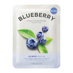 It's Skin The Fresh Mask Sheet - Blueberry - Vitality & Moisture