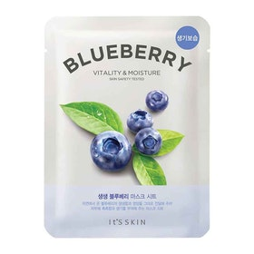It´S Skin The Fresh Mask Sheet - Blueberry - Vitality & Moisture