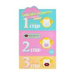 Golden Monkey Glamour Lip 3-Step Kit - 70% rabatt