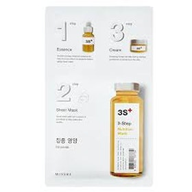 Missha 3 step sheet mask- Ceramide