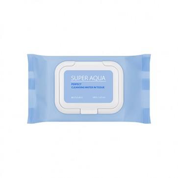 Rengöring - MISSHA Super Aqua Perfect Cleansing Oil In Tissue