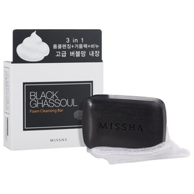 Rengöring: MISSHA Black Ghassoul Foam Cleansing Bar