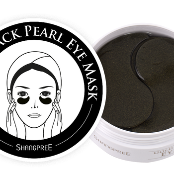 Shangpree Gold Black Pearl Hydrogel Eye Mask
