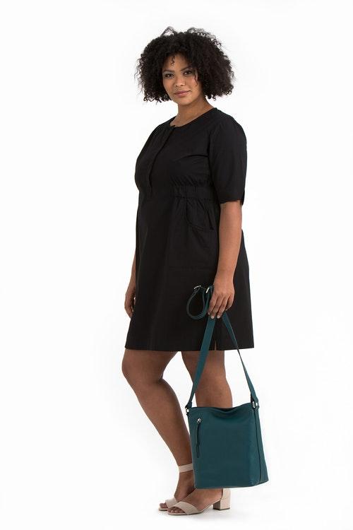 Mie dress black