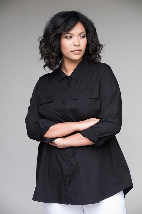 Sibel shirt black