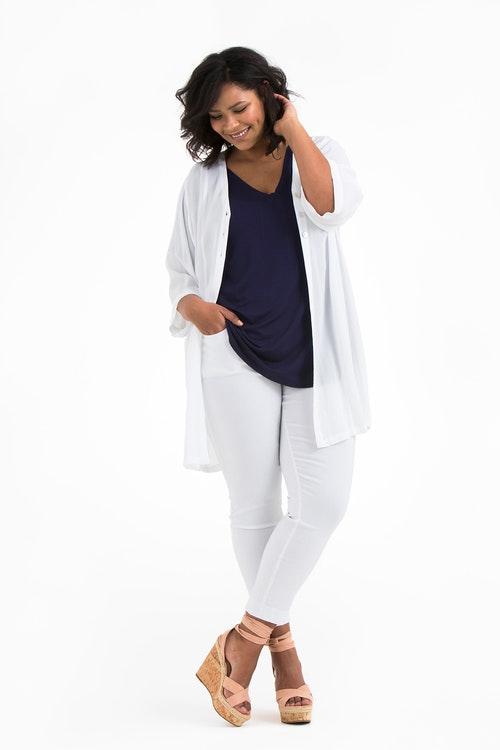 Vera kimono white