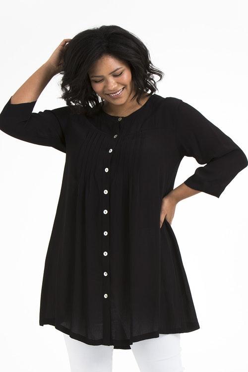 Emma tunic black