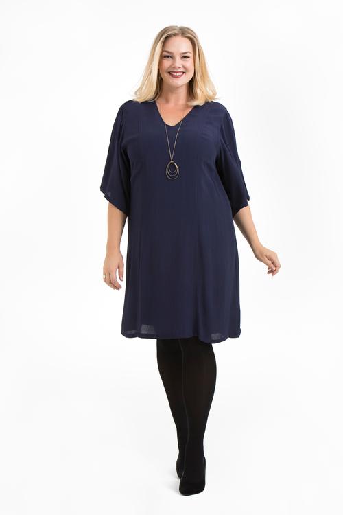 Julia klänning blå