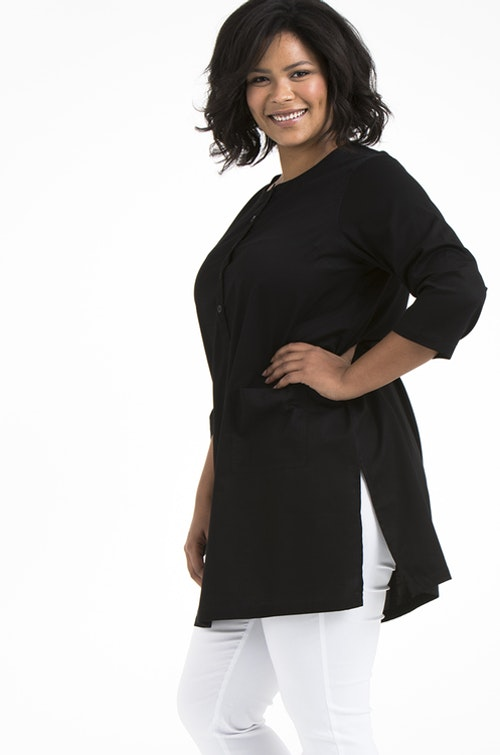 Nora tunic black
