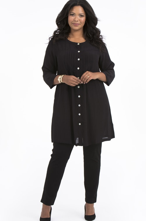 Emma tunic black