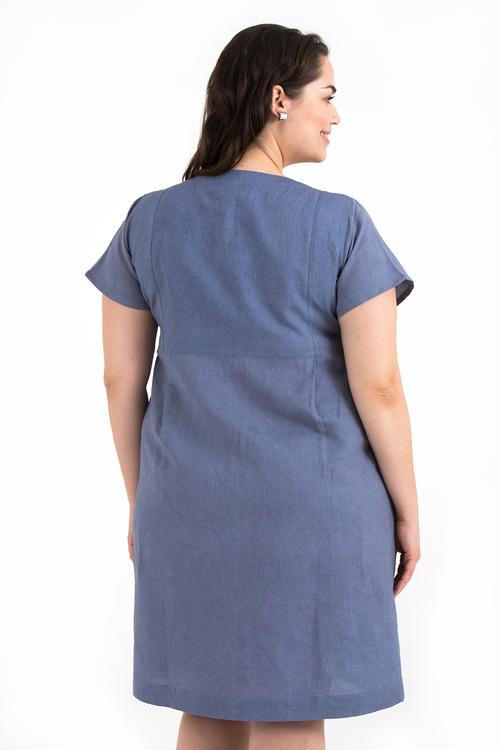 Signe klänning ljusblå