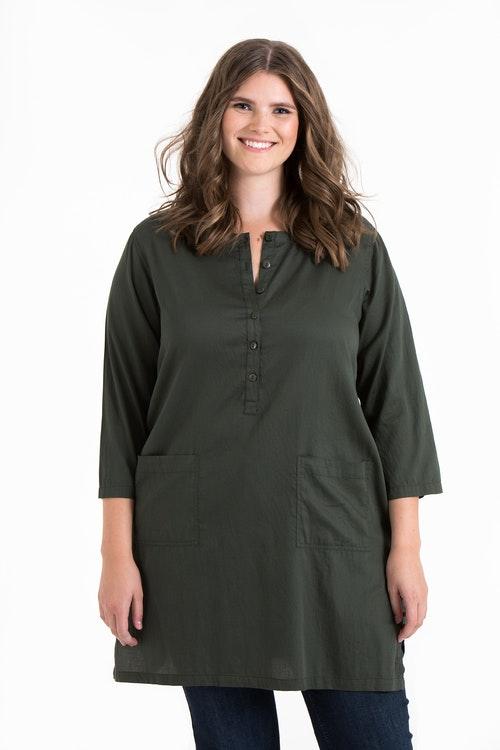 Nora tunika mörkgrön