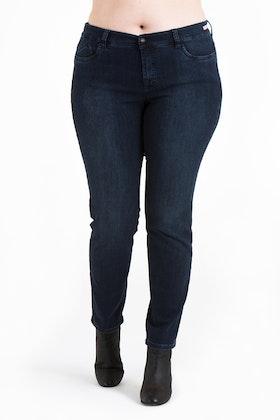 Power jeans mörkblå