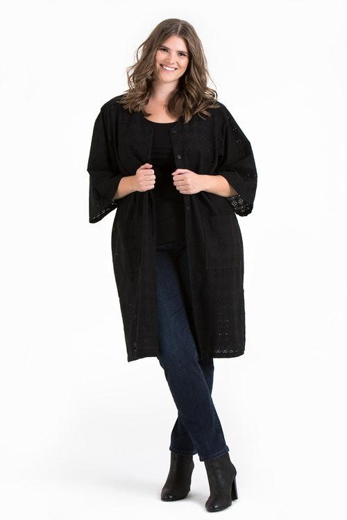 Malva kimono black