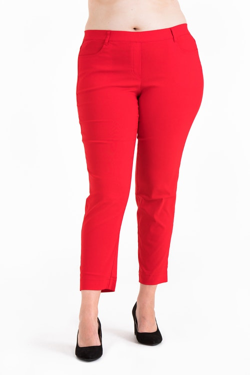 Pamela 4146 pants red