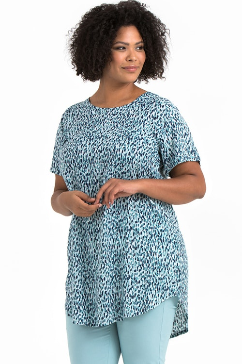 Ally dress/tunic Aqua blue