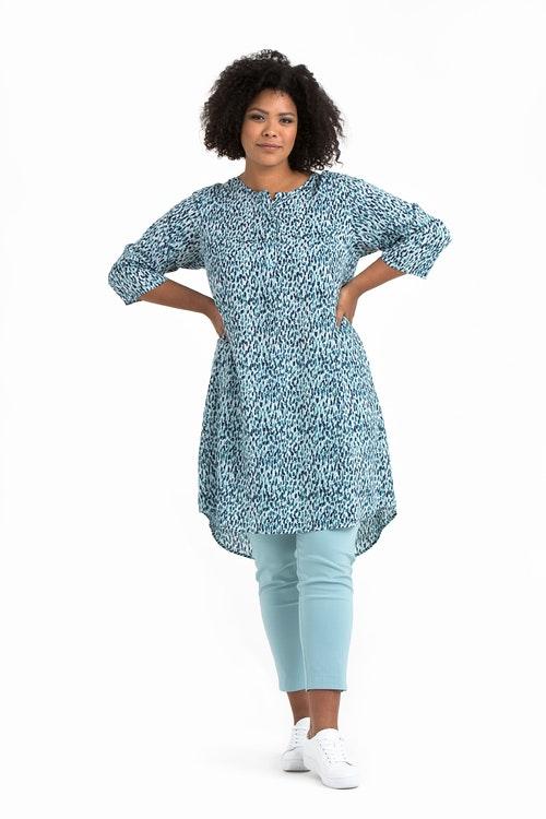 Lykke dress/tunic Aqua blue