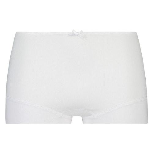 RJ boxer panties white