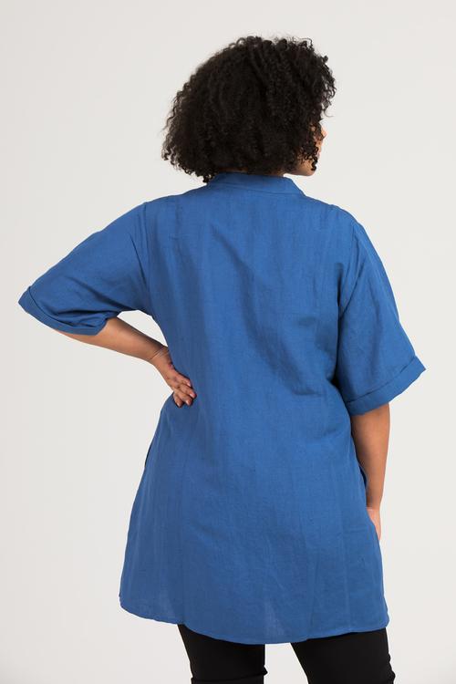 Virve tunika/klänning blå
