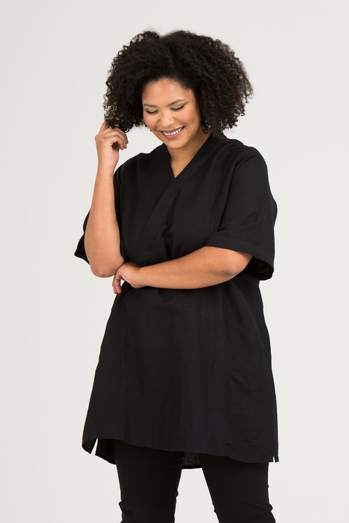 Virve tunika/klänning svart