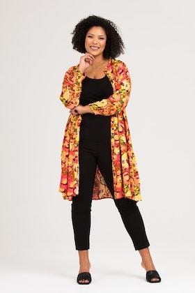 Elise skjorta/klänning Peony multi