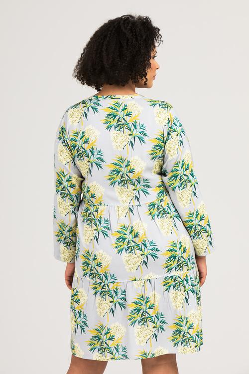 Elise skjorta/klänning Lace grå