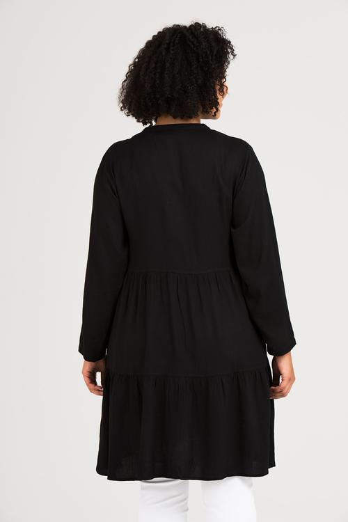 Elise skjorta/klänning svart