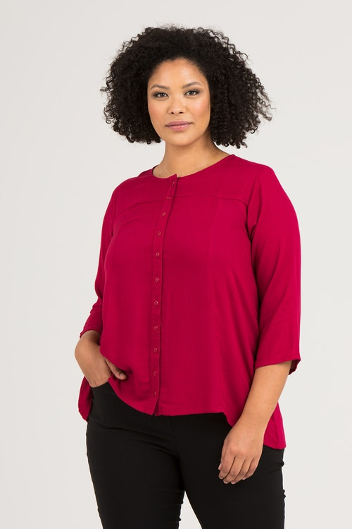Ebba blouse beet