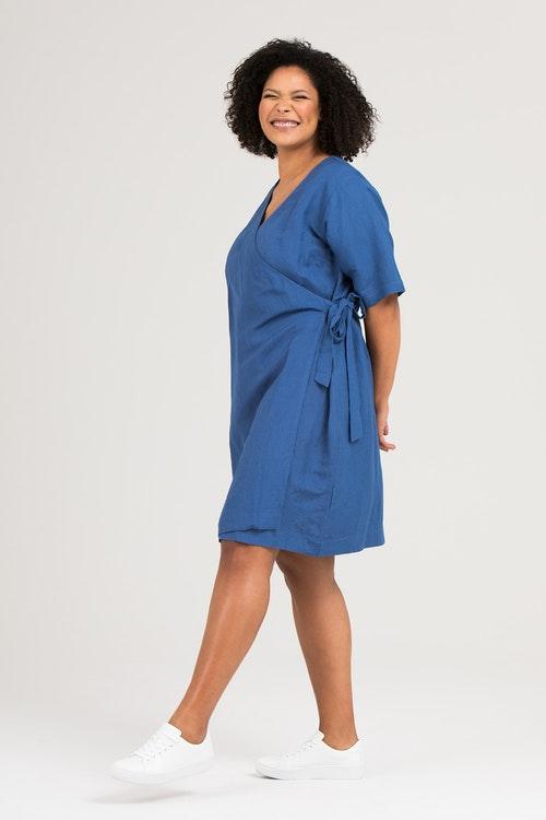 Cissi klänning blå