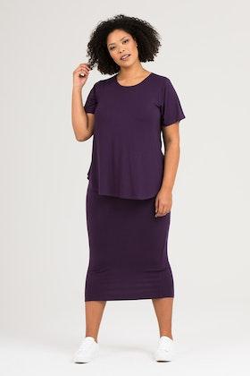 Liz kjol grape
