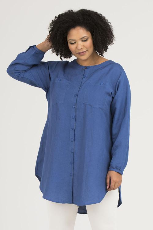 Cajsa skjorta blå