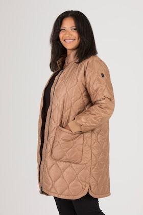 Jacket golden brown