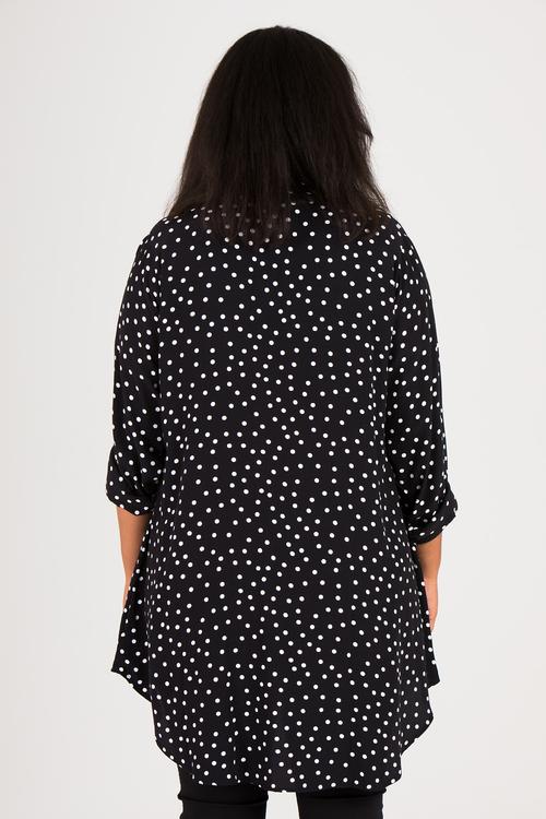 Niki skjorta svart/vit
