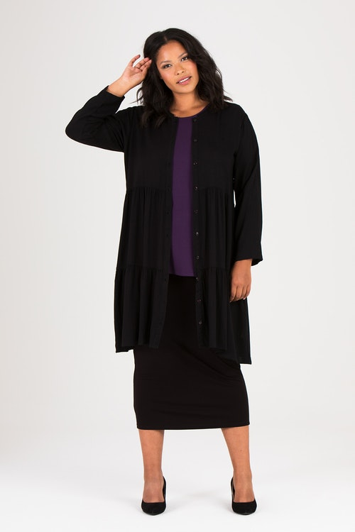 Elise shirt/dress black