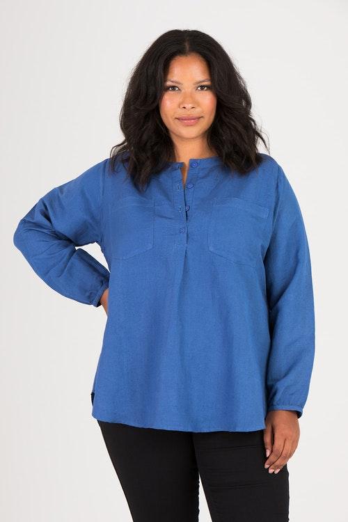 Cloe tunika blå