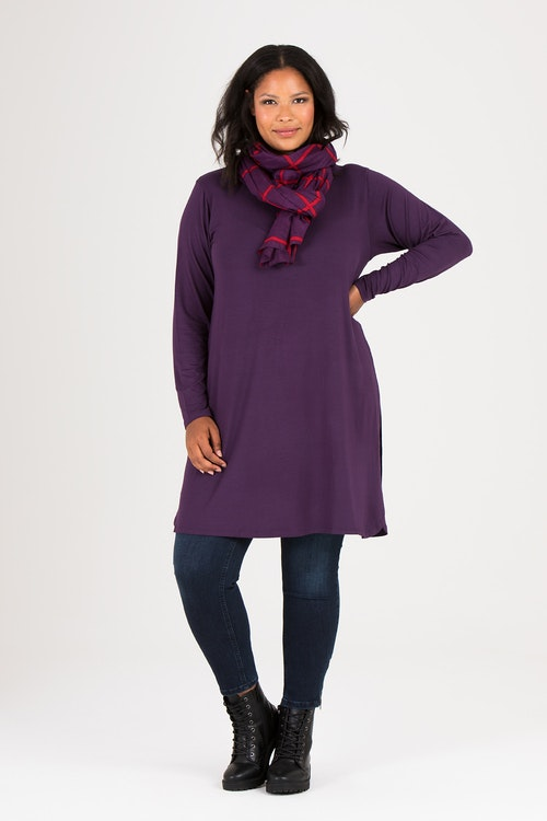 Kate dress/tunic grape