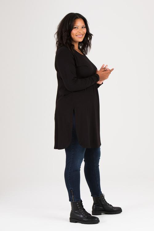Kate klänning/tunika svart