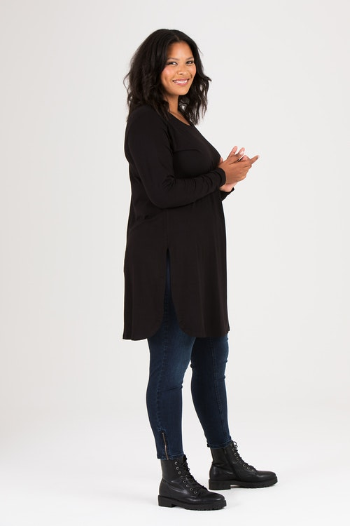Kate dress/tunic black