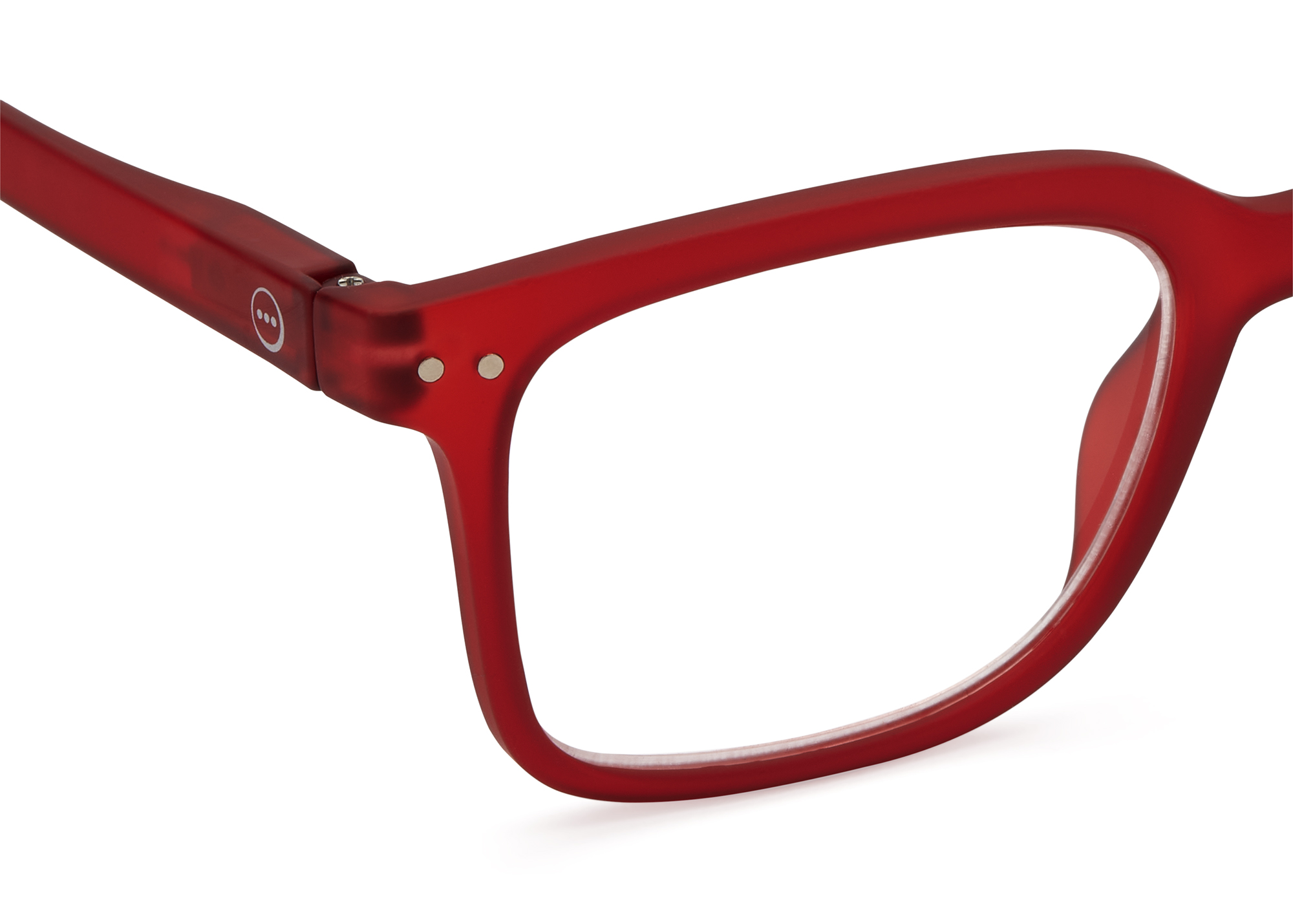 Läsglasögon Izipizi modell L röd