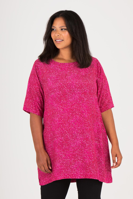 A tunika/klänning mönstrad cerise