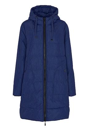 Hooded jacket blue