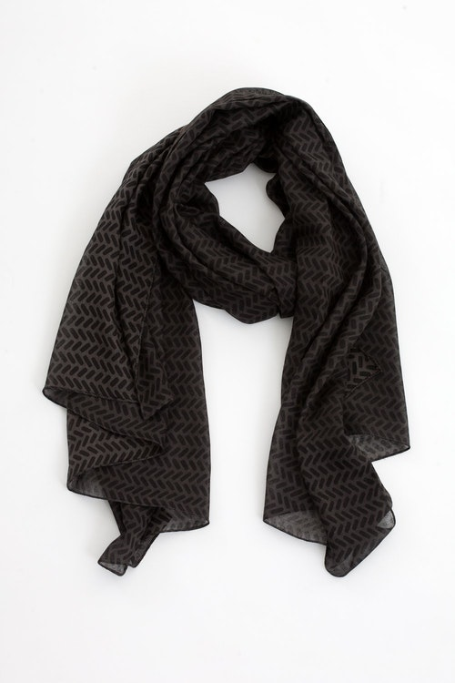 Happy scarf black