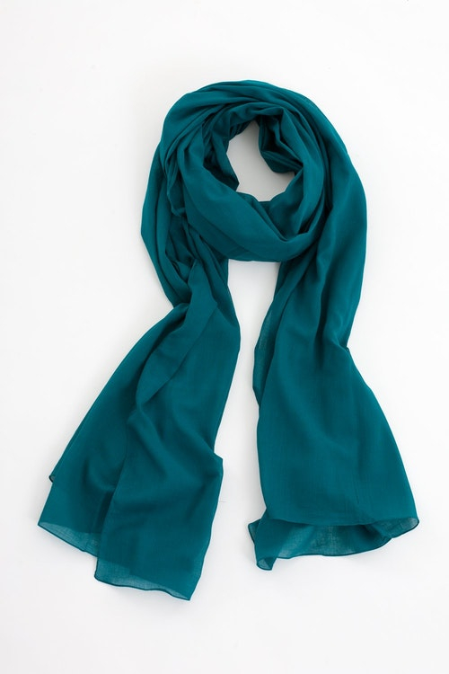 Jolly sarong/sjal blågrön