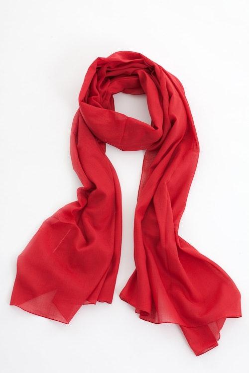Jolly sarong/sjal röd