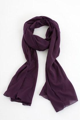 Jolly sarong/sjal aubergine