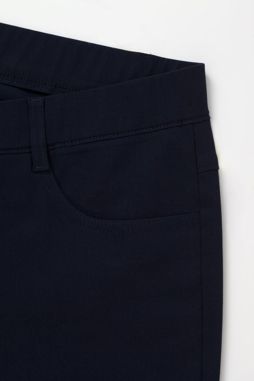 Pamela 4146, svart byxa i stora storlekar, textur.
