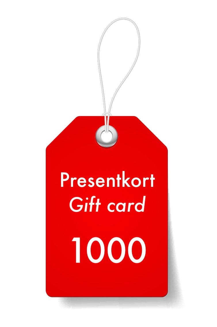 Presentkort 1000