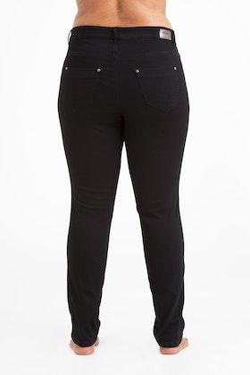Power jeans svart