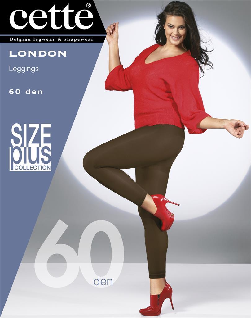London leggings svart 60 den